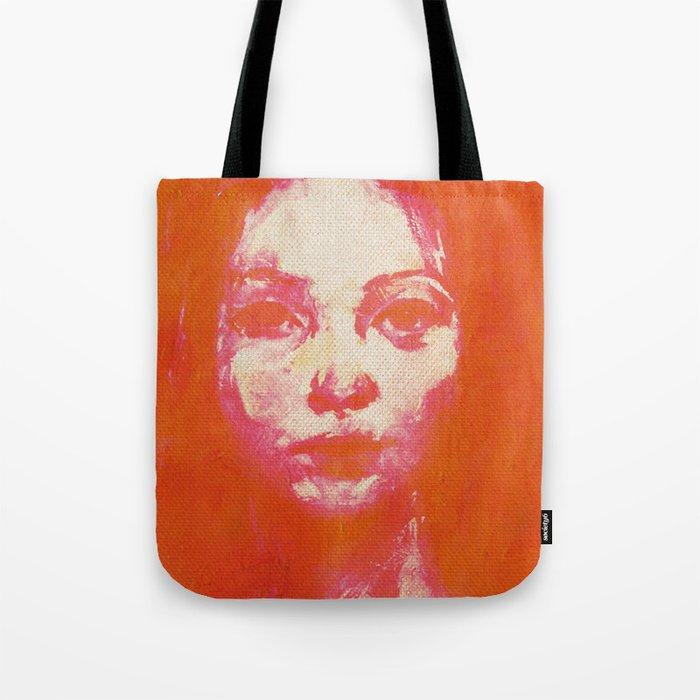 Colorful Woman 2 Tote Bag
