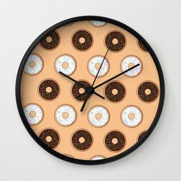 Donuts Resist Wall Clock