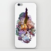 hunter x hunter iPhone & iPod Skins featuring Hunter X Hunter Characters by Prince Of Darkness