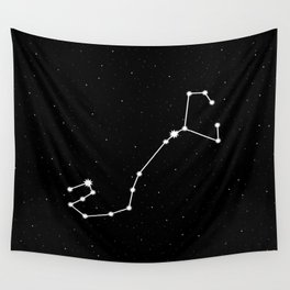 Scorpio Astrology Star Sign Night Sky Wall Tapestry