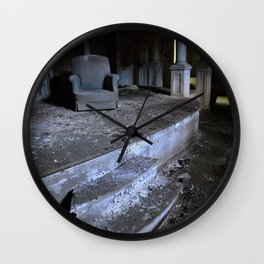 Save Me A Seat Wall Clock