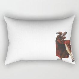 The gossipy girl of Shakespeare Rectangular Pillow