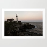 Portland Head Light, Maine Art Print