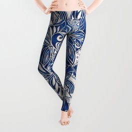 Hawaiian tribal pattern II Leggings