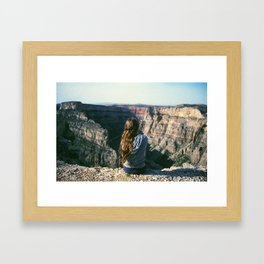 Bighorn Canyon, Wyoming Framed Art Print