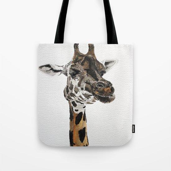Giraffa camelopardalis Tote Bag