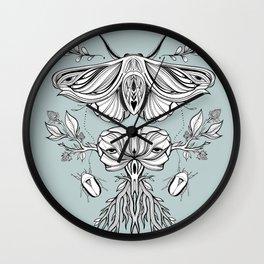 Black Mirror - Moss Wall Clock