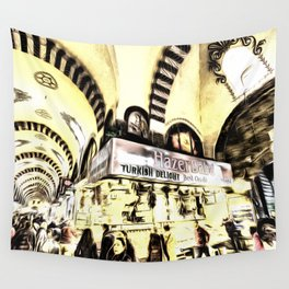 Spice Bazaar Istanbul Art Wall Tapestry