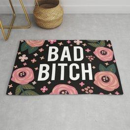 Bad Bitch, Funny Saying Rug