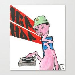 Hip Hop monster Canvas Print