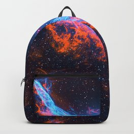 Nebula and stars Backpack