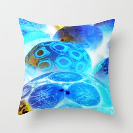 Queueing For Creation Throw Pillow