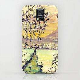 Cold Winter Vintage iPhone Case