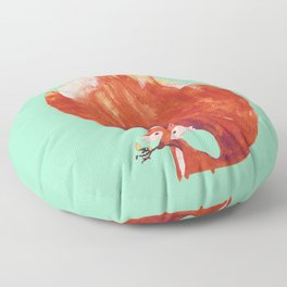 Kitsune (Fox of fire) Floor Pillow
