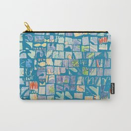 Mosaic Doodle Carry-All Pouch