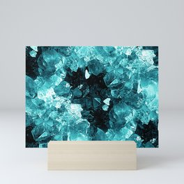 Crystal Geode Abstract Mini Art Print