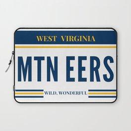 West Virginia License Plate Laptop Sleeve