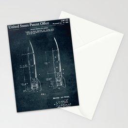 Rocket propelled missile Stationery Cards