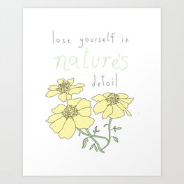 Nature's Detail Art Print