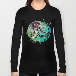 Ocean Spray Hawaiian Turtle Threads Long Sleeve T-shirt