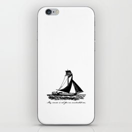 Divine Comedy - Dante Alighieri - Uncharted Sea iPhone Skin