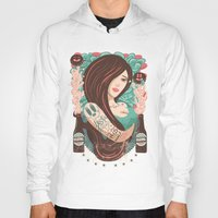 party Hoodies featuring Party by Victor Beuren