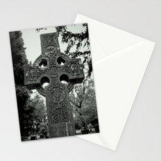 Celtic graveyard Stationery Cards