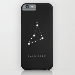 Capricorn Zodiac Constellation iPhone Case