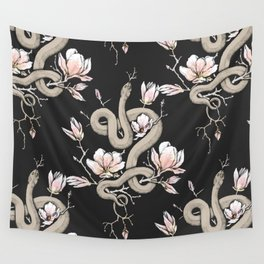 Magnolia and Serpent Wall Tapestry