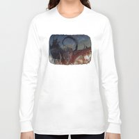 smaug Long Sleeve T-shirts featuring Smaug by Cécile Pellerin