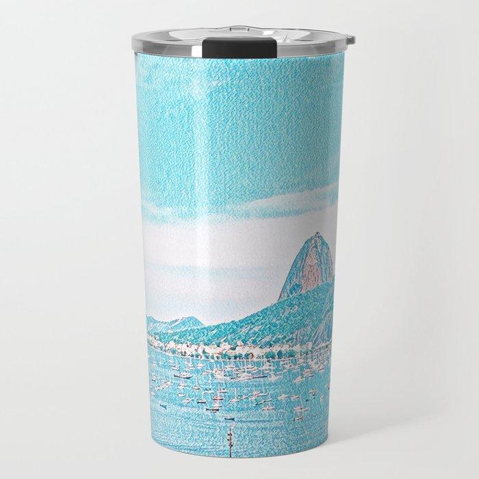 Rio de Janeiro - Pão de Açúcar - Art Travel Mug
