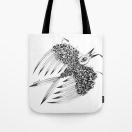 """ Spring"" (b&w) Tote Bag"