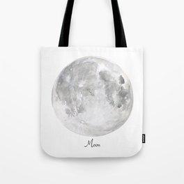 Moon planet Tote Bag