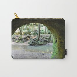 Cave View of Forest Carry-All Pouch