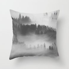 Everything Turns Gray #society6 Throw Pillow