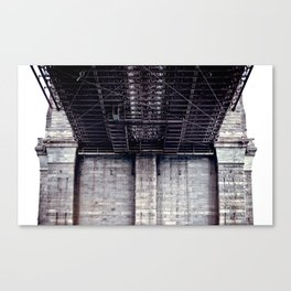 B is for Bridge Canvas Print