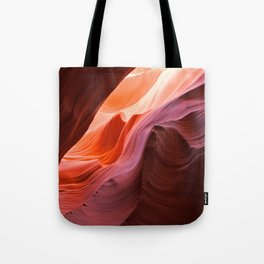 The Waves of Antelope Canyon Tote Bag