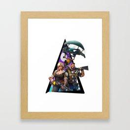 Fortnitee Framed Art Print