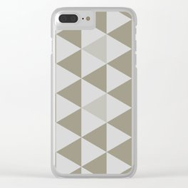 Great Triangle Pattern Clear iPhone Case