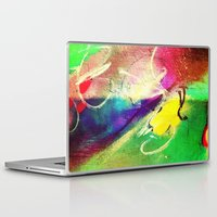 graffiti Laptop & iPad Skins featuring Graffiti  by Shannon Curtis