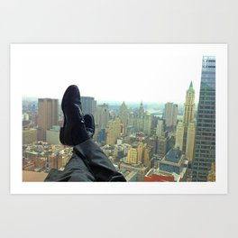 New York Office View Art Print