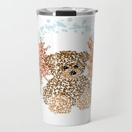 Autumn Bear Travel Mug