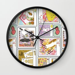Critter Collective Wall Clock