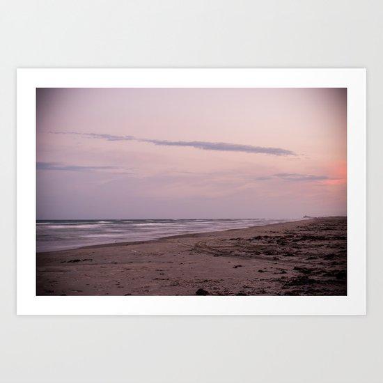 Sunset in the Gulf Art Print