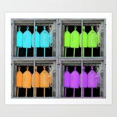 Buoy Warhol Art Print