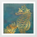 Deep Sea Life Seahorse by glimmersmith