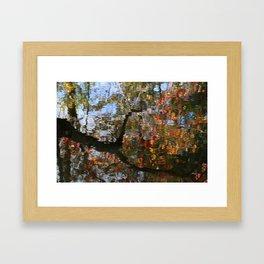 Autumn Reflections.   Framed Art Print