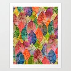 Autumn Rain 3 Art Print