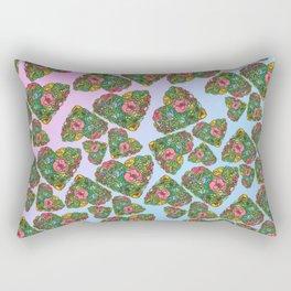 Flower`s hearts Rectangular Pillow
