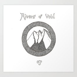Rivers of Void Art Print